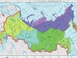 Типы климатов России (урок)